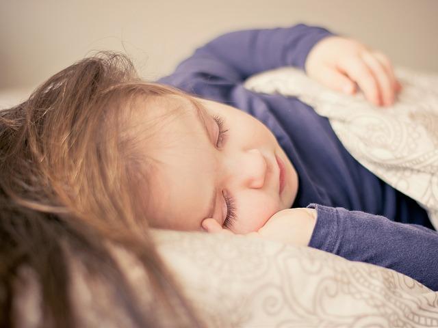 Spiace dieťa