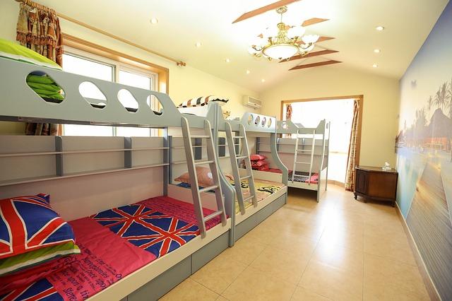 Poschodové postele pre deti
