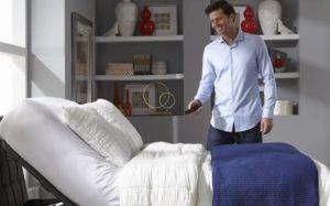 Diaľkové ovládanie na masážnu posteľ